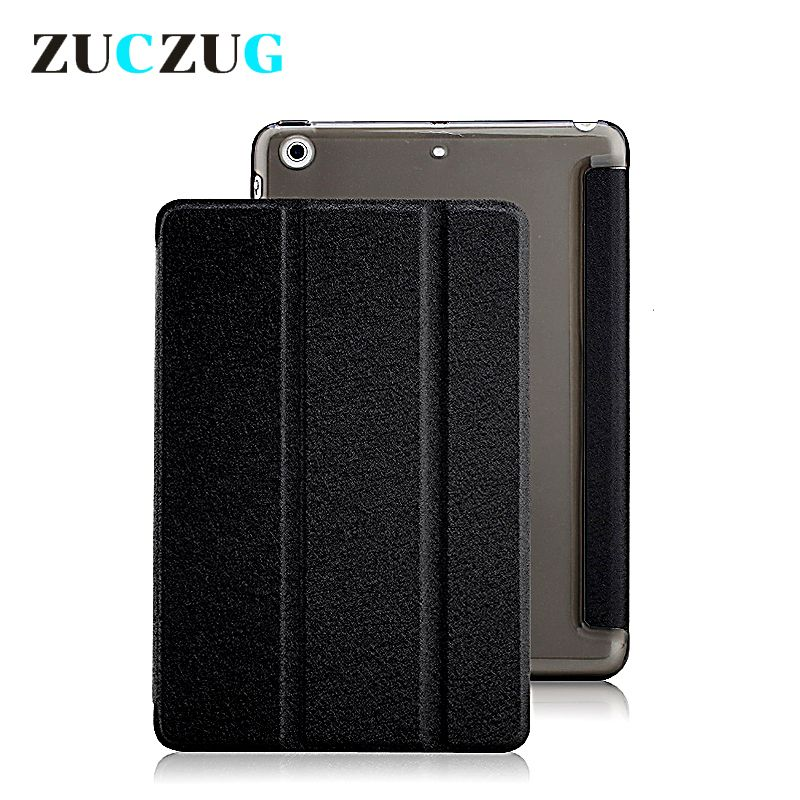 For iPad mini case,Slim Silk Folding Stand Smart Cover Case Protective Leather Case for iPad Air 1 2 Tablet Funda Cases Capa