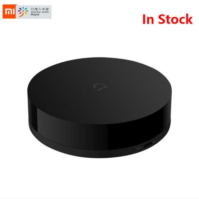 Stock Xiaomi Mijia Universal Smart Remote Controller Home Appliances WIFI+IR Switch 360 Degree Smart for Air Conditioner TV DVD