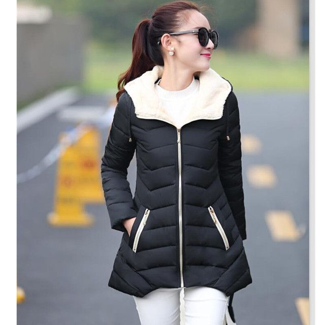Autumn and winter coats 2018 new wadded jacket women parkas winter outerwear slim cotton-padded jacket cotton jacket
