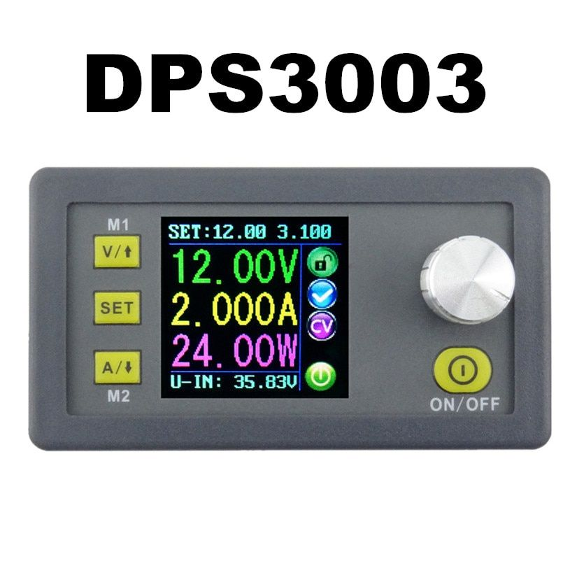DPS3003 Constant Voltage current Step-down Programmable control Supply Power module buck Voltage converter LCD color 10%OFF