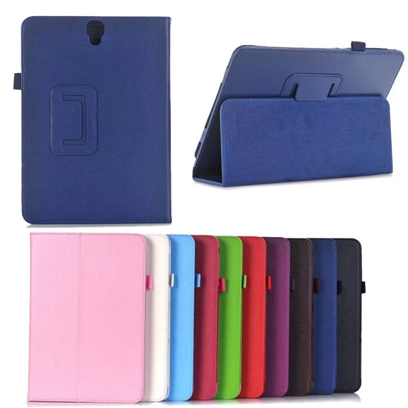 New Bracket Stand For Samsung tab S3 T820 Case PU Funda Case For Samsung Galaxy Tab S3 9.7'' T820 T825 SM-T820 Flip Cover