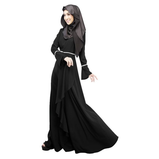 Retail Abaya Jilbab Kaftan  Fashion Maxi Dress Islamic Maxi Evening Party Dress