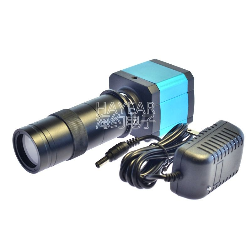 14MP HDMI HD USB Digital Industry Video Microscope Camera Set with 100X C-MOUNT Lens
