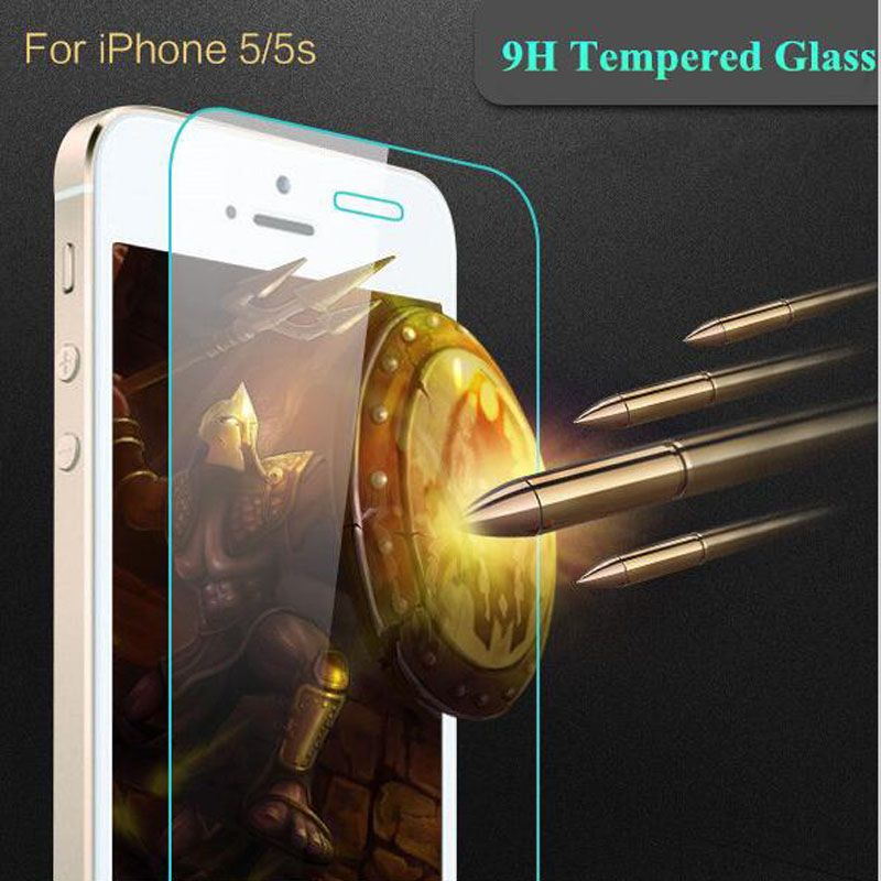 Wangcangli tempered glass for iphone 6 4s 5s 6 6plus 7plus Tempered glass for iPhone 7 protector film mobile accessories