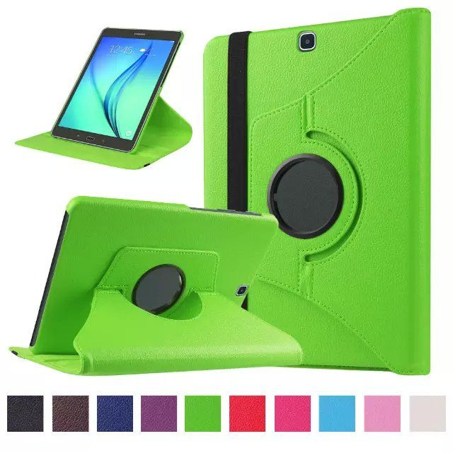 For Samsung Tab S2 9.7 Case PU Leather 360 Rotating Stand Cover Cases Coque for Samsung Galaxy Tab S2 9.7 T810 Tablet 10Colors