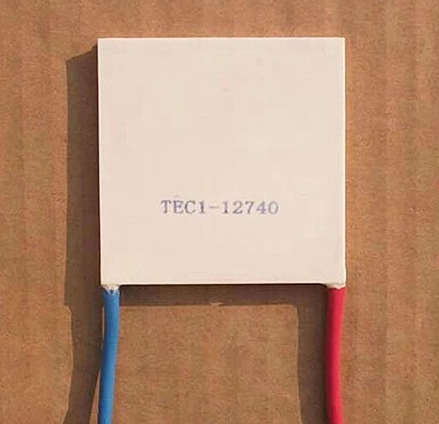 TEC1-12740 DC12V 40A 67 320W 62X62mm 62 * 62mm Thermoelectric Cooler Peltier