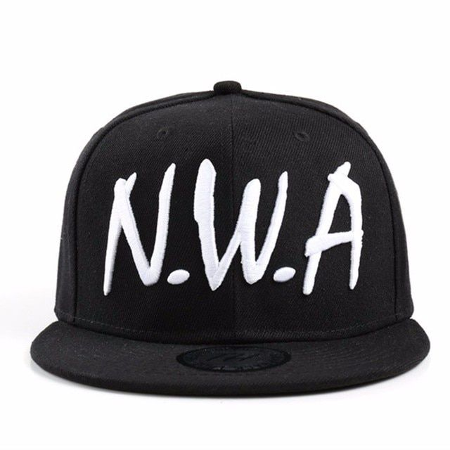2017 new Compton Snapback  Baseball Cap Vintage Black NWA street skateboard hip hop baseball cap falt hat for men and women