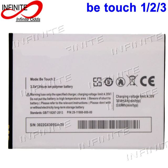 For ulefone be touch 2 Battery For ulefone be touch 3 Batterie Bateria Accumulator AKKU 3050mAh