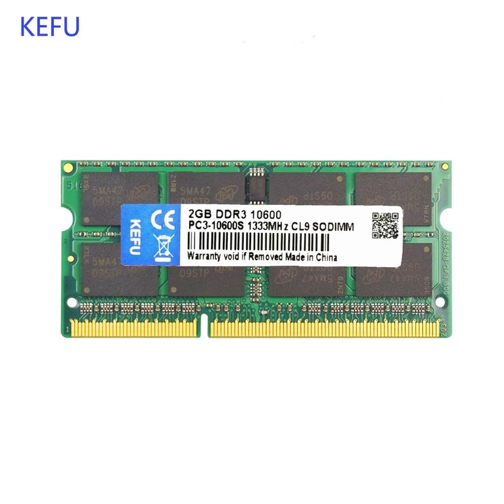 2GB DDR3 1333MHz PC3 10600 Compatible with DDR3 1066MHZ 204PIN Laptop Memory RAMS