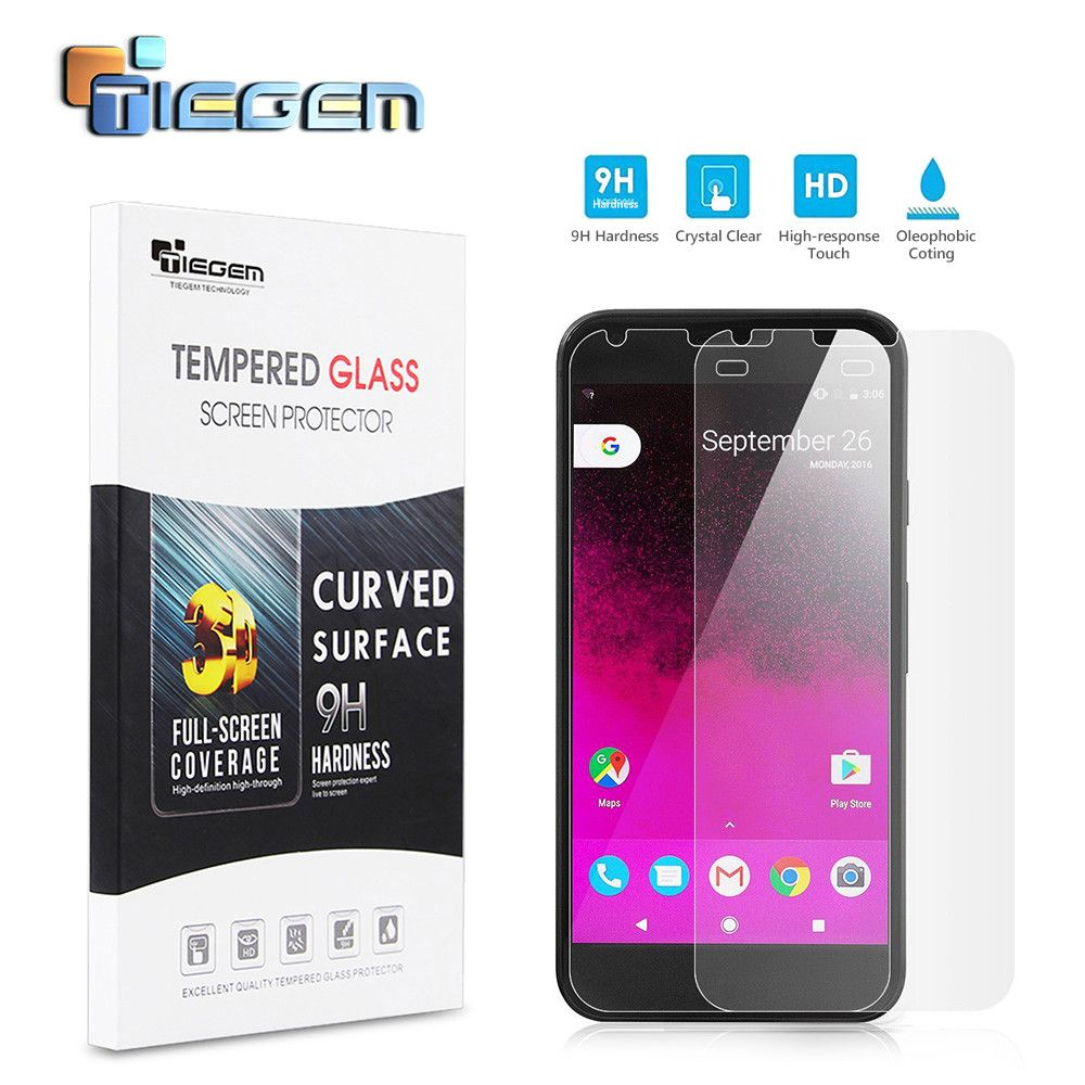 TIEGEM Tempered Film For LG Nexus 5X 9H Transparent Glass Screen Protector For Google Pixel XL/Nexus 5 X/Nexus 6/6P Mobile Phone
