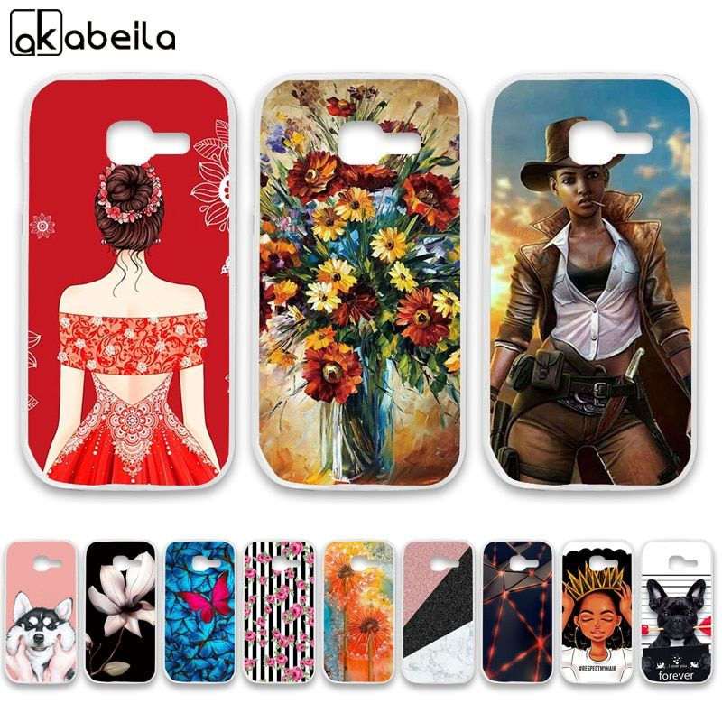 AKABEILA Soft TPU  Bumper Phone Cases For Samsung Galaxy Star Plus S7260 S7262 Pro GT-S7262 i679 4.0 inch Covers Nutella Bags