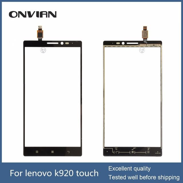 For Lenovo Vibe Z2 Pro K920 Touch Screen Digitizer Glass Sensor Panel Lens without lcd display sensor