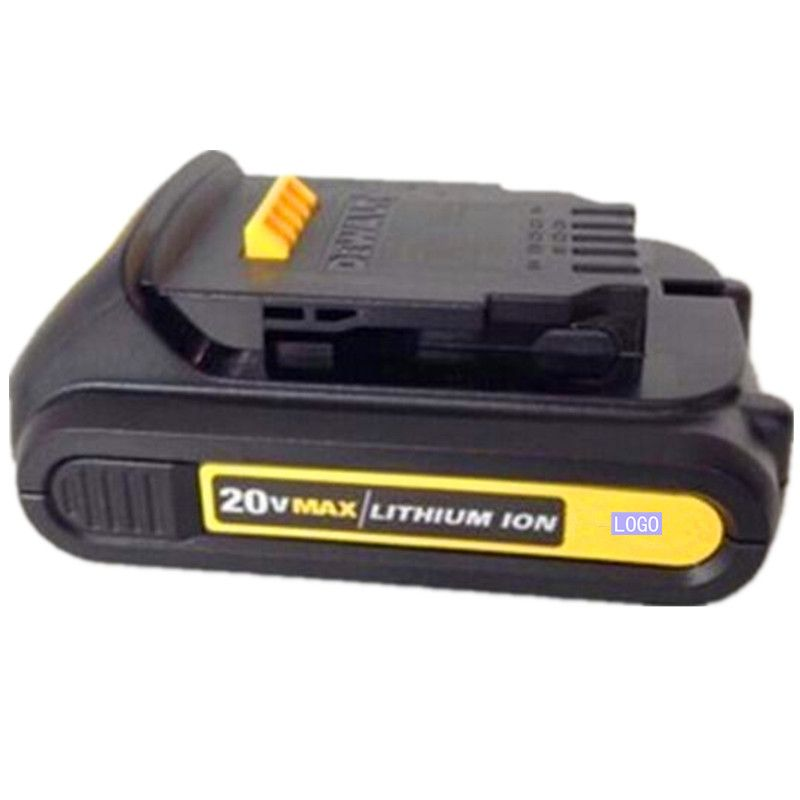 for Dewalt 20V 20 Volt Max, 2.0Ah, Lithium Battery Pack With Fuel Gauge Compatible For DCB180 DCB181 DCB200 DCB201,DCB203,DCB204