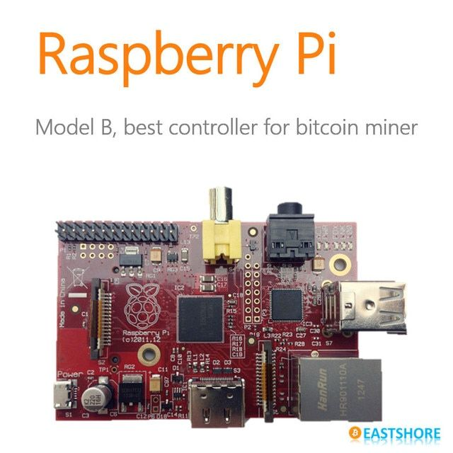 Raspberry Pi B RPi for Bitcoin Miner and Litcoin Miner