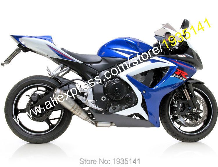 For Suzuki GSXR 600 GSXR 750 K6 06 07 GSX-R600 GSX-R750 2006 2007 Aftermarket Sportbike Fairing (Injection molding)