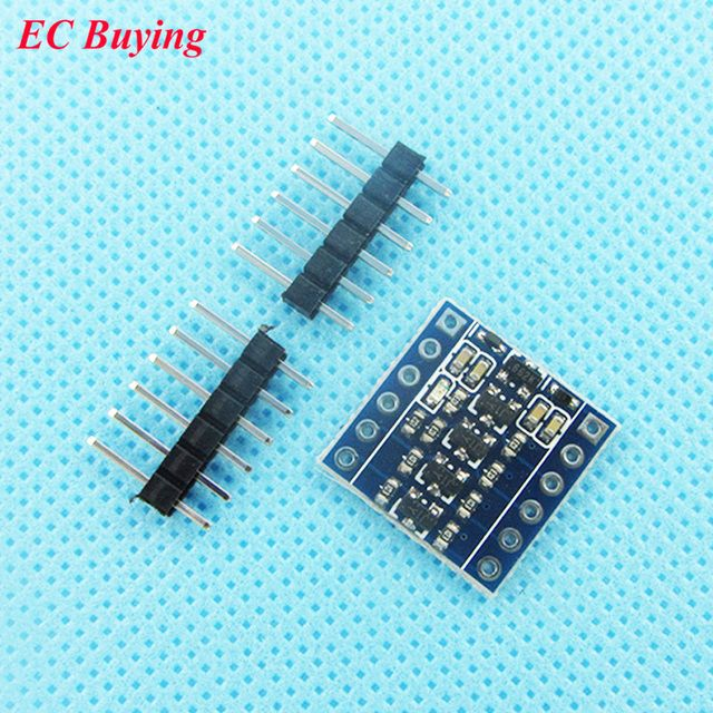 3.3V-5V 5V-3.3V IIC UART SPI TTL Bidirectional Level Translation Four Channel Level Converter Module 4-Channel