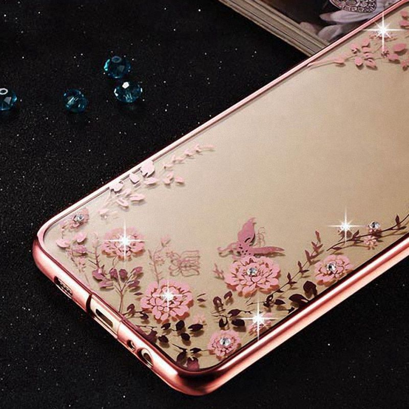 Mi5 Luxury Silicone Case for Xiaomi 5 Mi 5 M5 TPU Rhinestone Glitter Transparent Phone Cover for Xiomi Xaomi Mi5 Fundas Capa