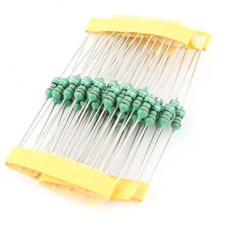 50PCS 0410 Color Ring Inductance 4.7MH 472K 1/2W Axial RF Choke Coil Inductor