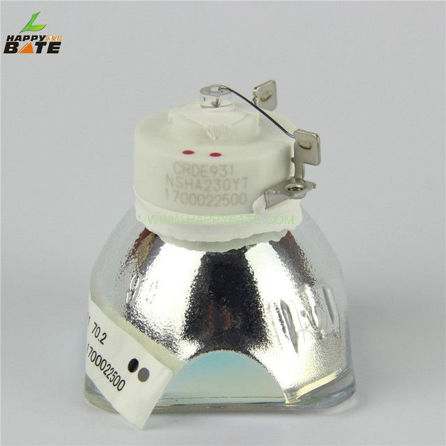 HAPPYBATE Original Projector bare Lamp NP07LP / 60002447 for NP400 / NP500 / NP500W / NP600 / NP300 / NP610 Projector Lamp