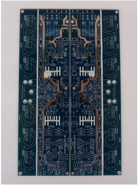 1 pair KSA50 class A amplifier board Gold seal Speaker protection PCB