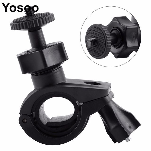Bicycle Mount Holder Screw Handlebar Clip Mount Bike Clip Bracket For Gopro Hero 4/3+/3/2/1 For Go Pro Hero Action Camera