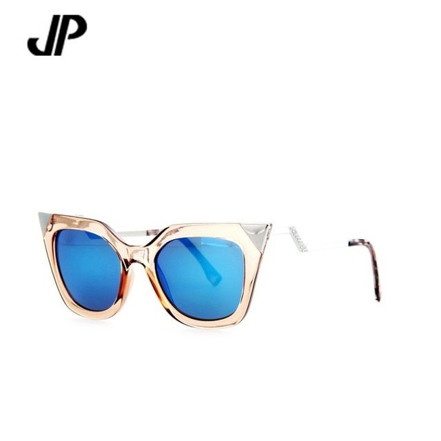 JP brand sunglasses women Cat Eye sun glasses fashion design glasses summer style oculos de sol feminino gafas de sol UV 400