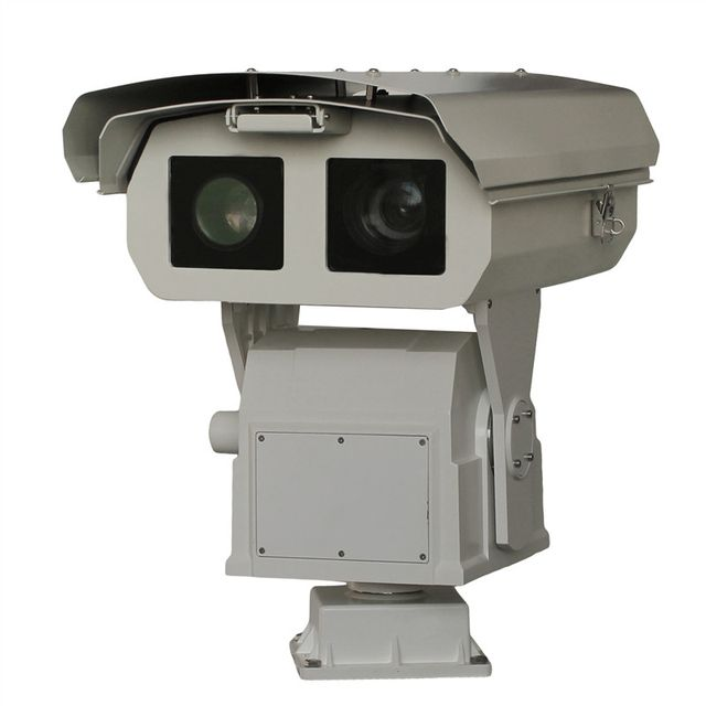 Integrated heavy - duty thermal imaging,Thermal imaging camera,0.3-12KM Long distance Thermal imaging IP camera onvif