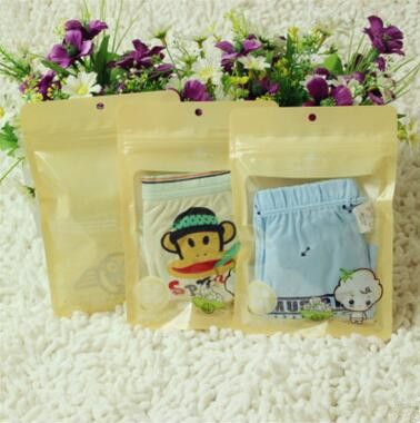 Composite Durable Clothing Zipper Bags Underwear Ziplock Pouches Many Variety Styles Select New Material Plastic Packaging Bags
