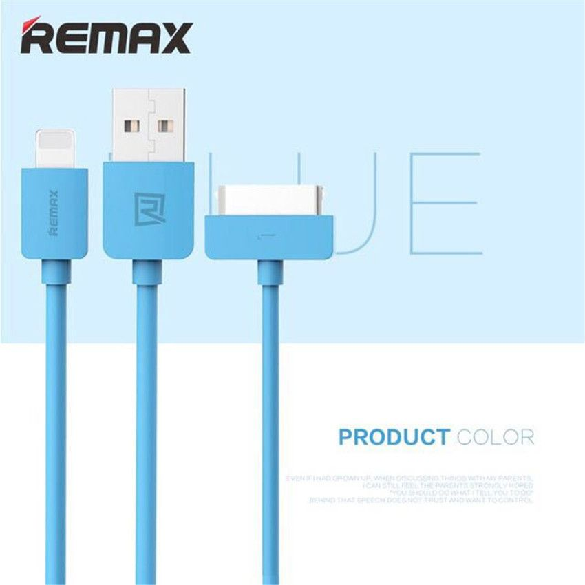 Remax Mobile Phone  USB Charger Data Cable for iPhone 6 5 iPad Air iPod 30 Pin USB Cable for iPhone 4s 4