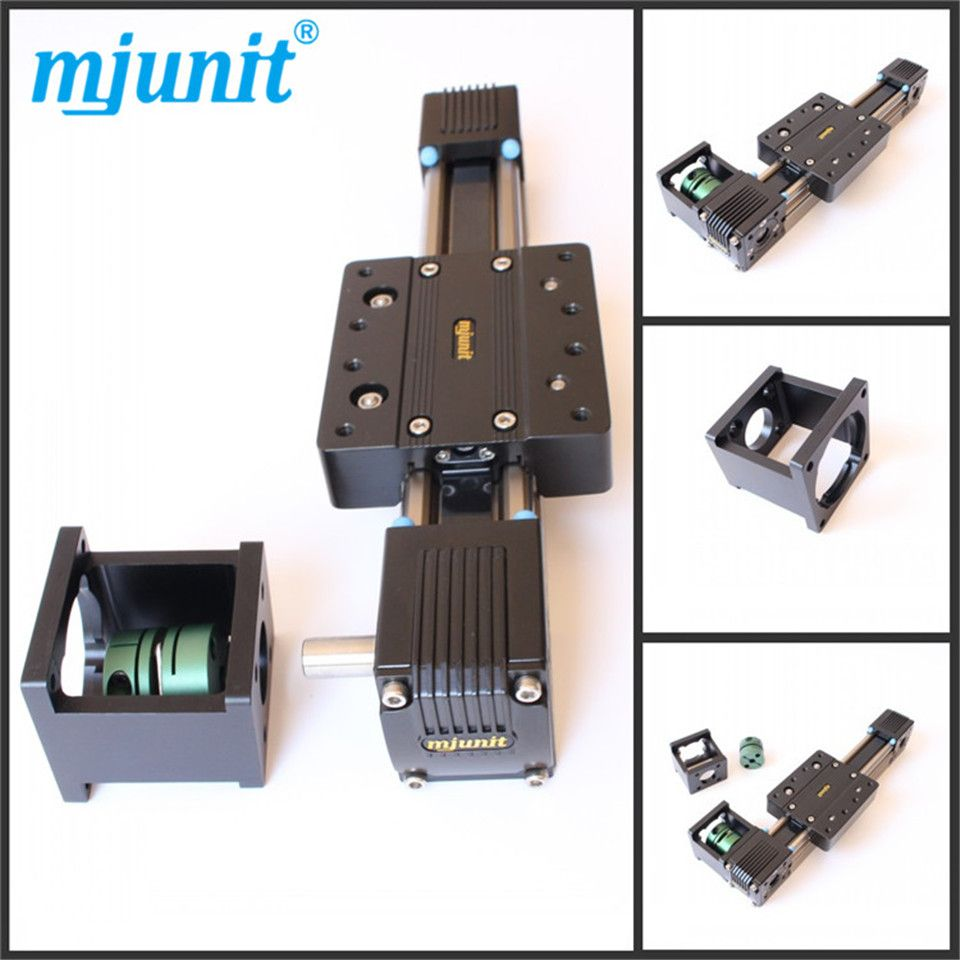 3 axis CNC router linear guide and servo motor Linear 3 Axis CNC Machine Kit linear rail