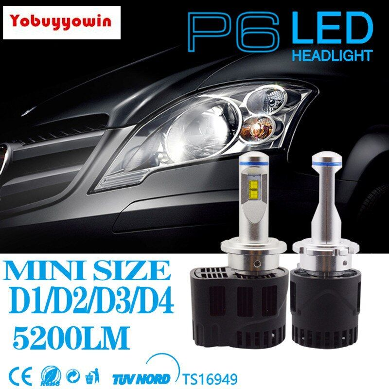 P6 D1 D2 D3 D4 D1S D2S D3S D4S D1R D2R D3R D4R 110W Led Car Auto Headlight Used Philipsmz Led For Lexus NISSAN&INFINITI and All