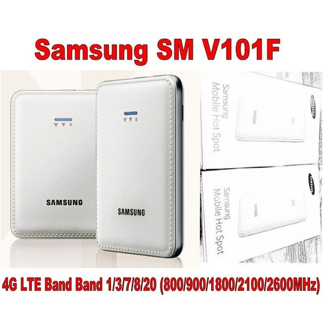 Samsung SM-V101F 4G LTE Cat4 Mobile WiFi router