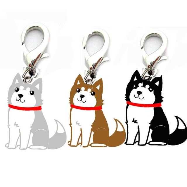 New Qualified id puppy collars Dog Pet Tag Disc Disk Pet ID Enamel Accessories Collar Necklace Pendant Aug24
