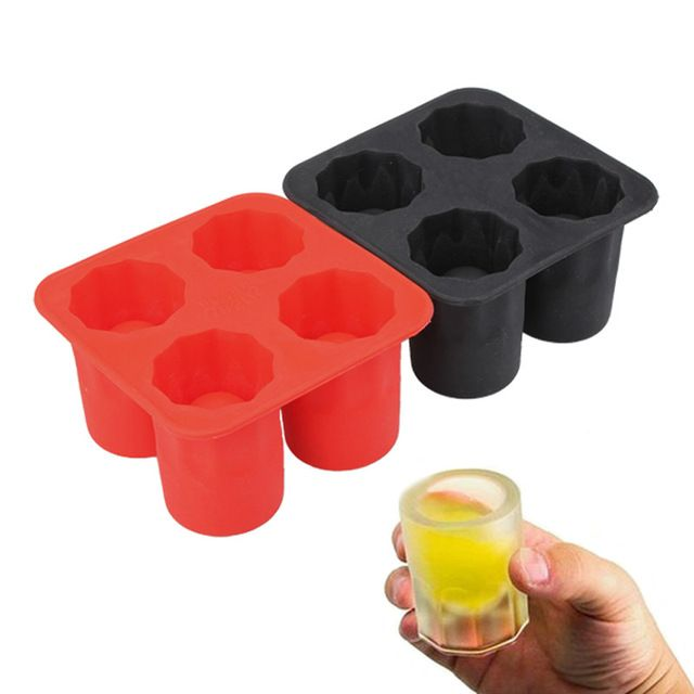 DIY Ice Cream Tool Brain Shape Ice Tray Ice Maker Mould Shot Glasses Ice Mold Party Drinking Accessories