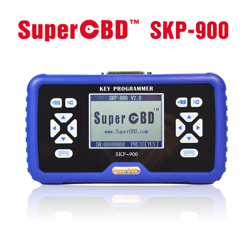 2015 New Arrival SuperOBD SKP-900 Hand-held OBD2 Auto Key Programmer SKP900 Free Shipping