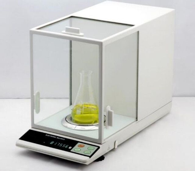 NEW 180x0.00001g 0.01mg Lab Analytical Balance Precision Scale fast shipping