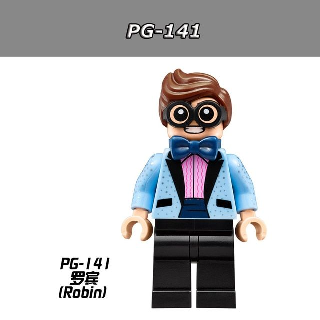 10pcs/lot PG141 Scuttler Robin Blue Suit 2017 The Batman Movie 70908 Building Blocks Children Gift Toys Hobbies PG8042