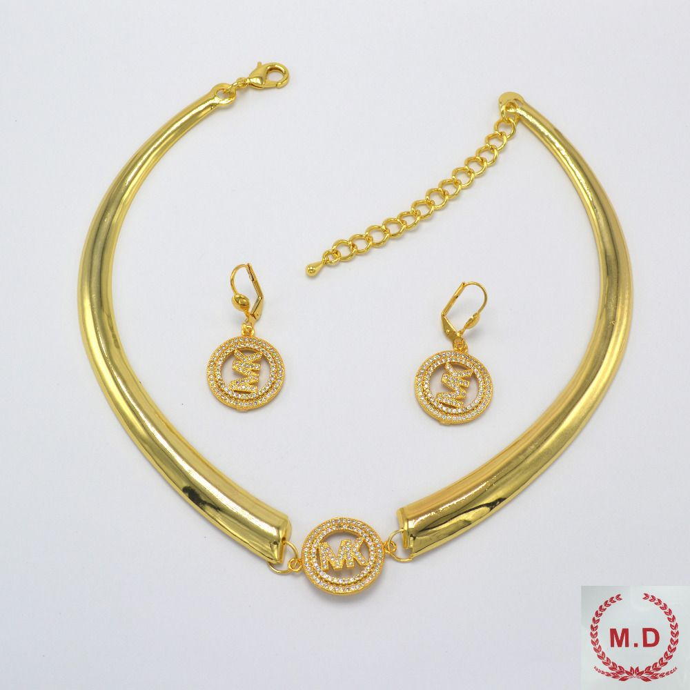 "M.D Shop Jewelry Set For Women Wholesale ""ITALY 750 "" Jewelry One color  2016New Best Sellrs"