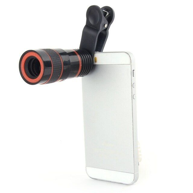 8x Zoom Telescope Telephoto Camera Lens for Samsung S6 Note 5 iphone 6 Plus Mobile Phone