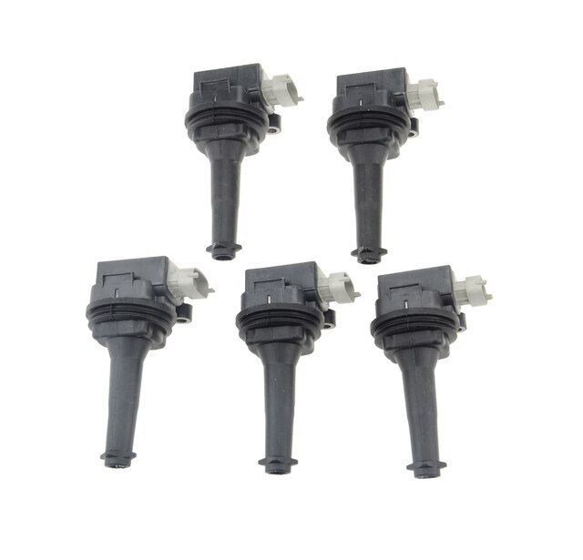 Set of 5pcs Ignition Coil for Volvo C30 C70 S40 S60 V50 V70 XC70 Ford Focus Mondeo 2004 2005 2006 2007 2008 2009 2010 2011-2013