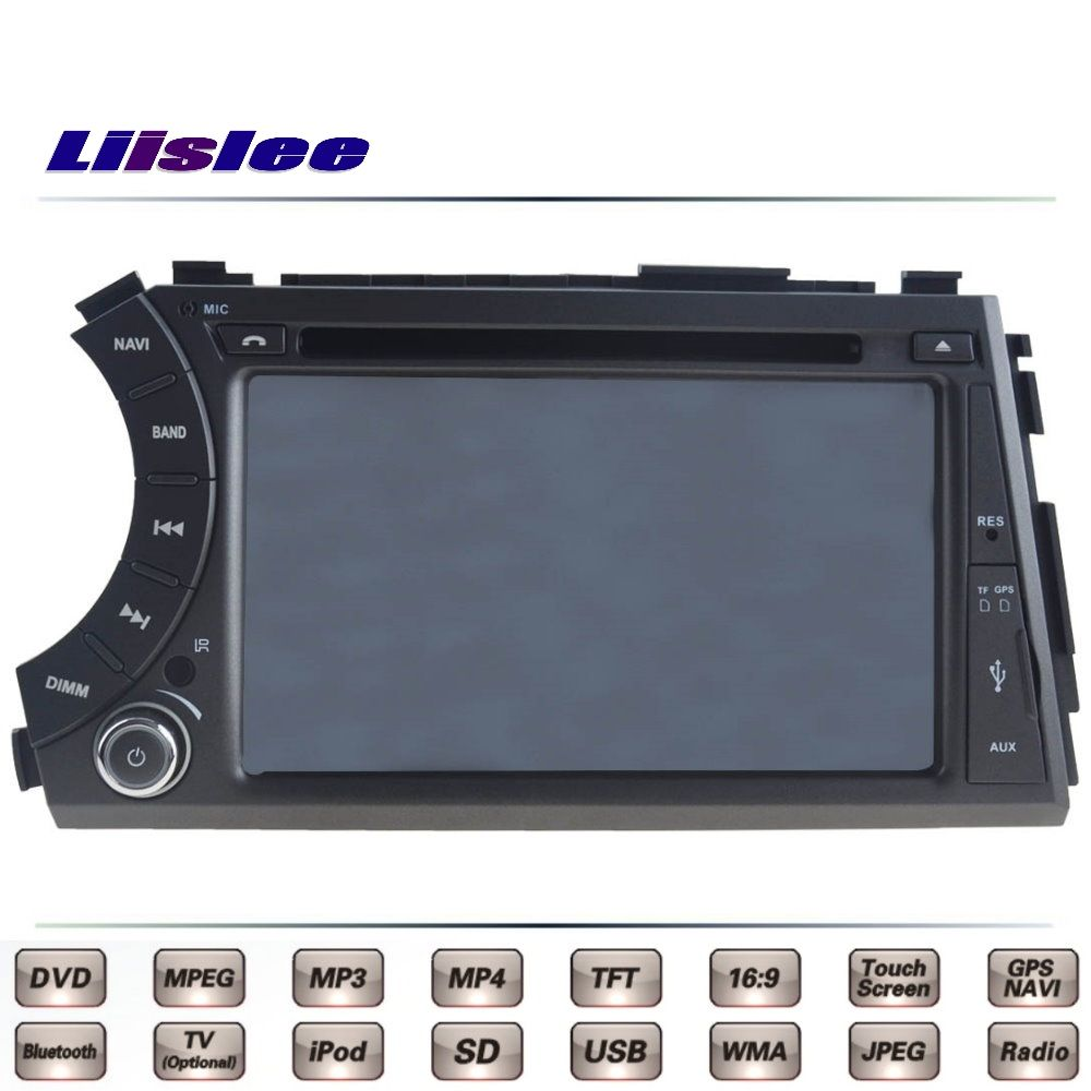For Micro Kyron Car Multimedia TV DVD GPS Radio Original Style Navigation Liislee Advanced Navi