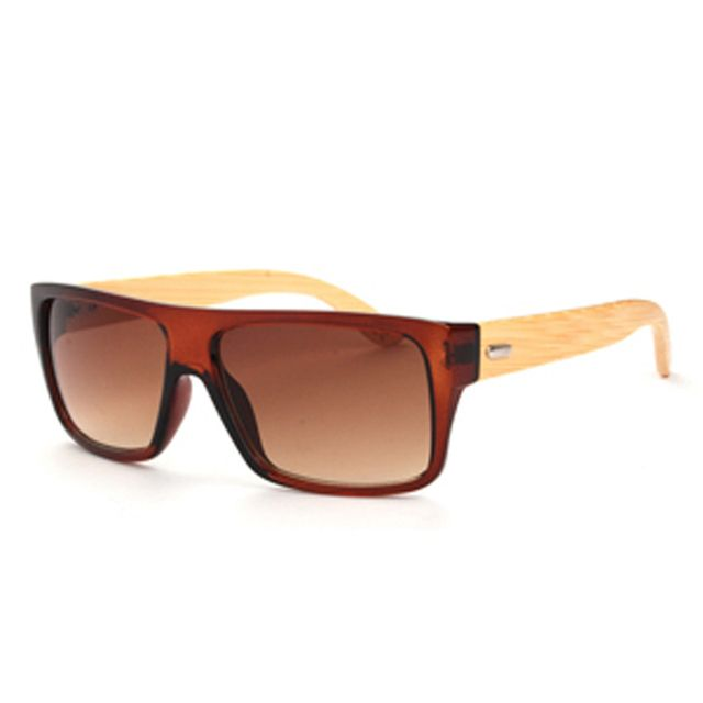 2016 New Design Wooden Goggle Glasses Women Bamboo Sunglasses Men Fashion Sport Sun Glasses Wood Oculos de sol feminino