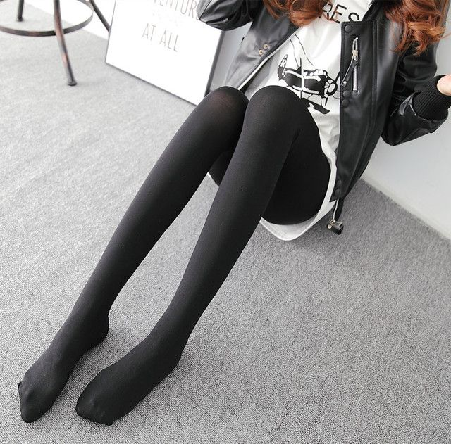 H.SA (3 pairs /lot) Women Autumn Tights Pantyhose Black Casual Casual Autumn Winter Pantyhose Girls Tights Sexy Tights Wholesale