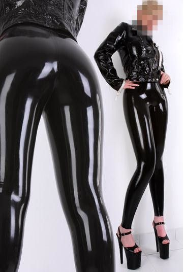 Latex Legging Rubber Leggings High Waist Latex Pantyhouse Women Skinny Sexy Rubber Leggings