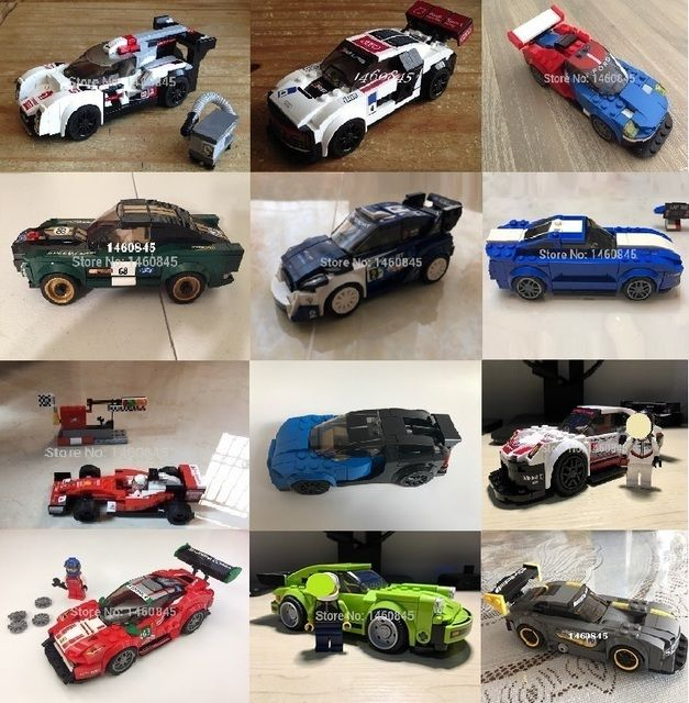 Techinic Speed Champion car compatible 75879 75870 75871 75872 75873 75888 75878 75881 75884 75885 75886 75887 birthday