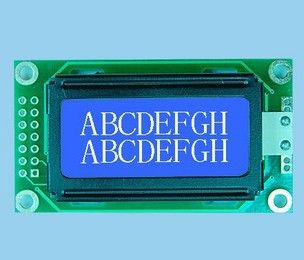 Free shipping 0802 LCD screen LCD module blue