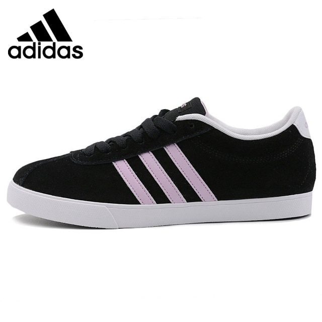 Original New Arrival 2017 Adidas NEO Label Courtset W Women's Skateboarding Shoes Sneakers