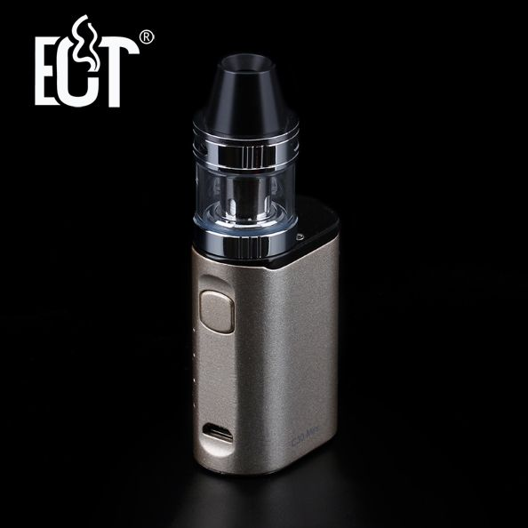 ECT C30 Mini Kit Top filling Kenjoy Met 2ml Atomizer Built-in1200mAh Battery box mod vaporizer electronic cigarette kit
