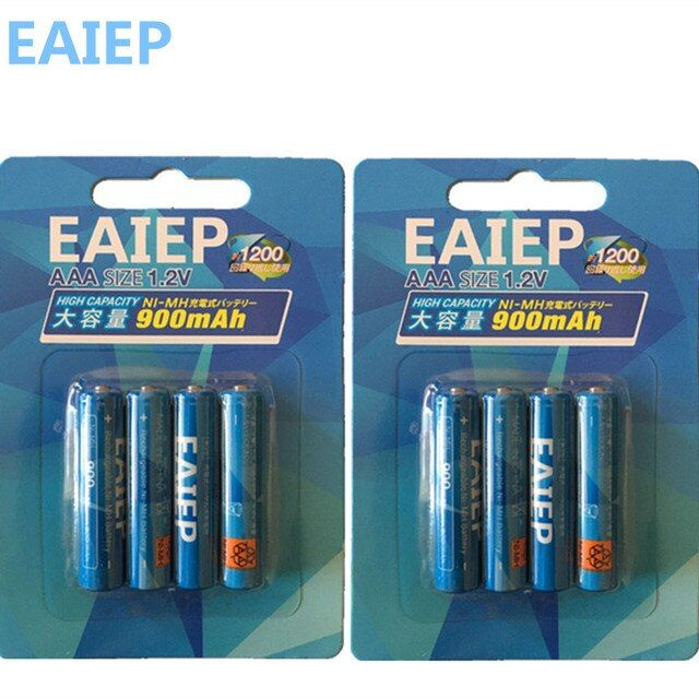 100% genuine authentic card installed  special times EAIEP AAA NiMH rechargeable battery (600-9000)mAh