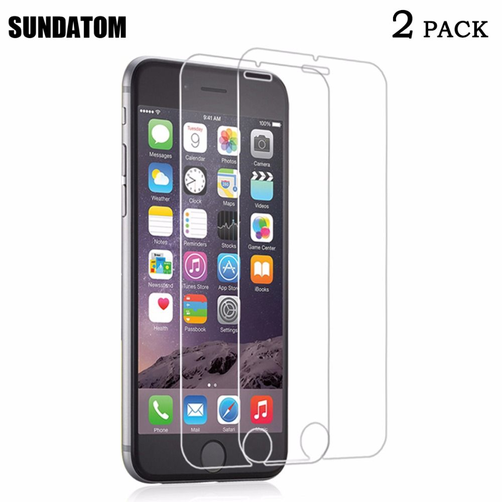 Tempered Glass Screen Protector for iPhone 6 7 6S Plus iPhone6 6plus 7Plus HD Glass Film